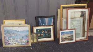 Lots of Art and frames for sale