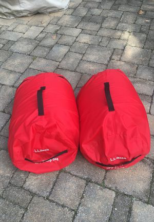 Children Llbean sleeping bags