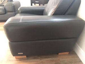 Palliser leather sofa set