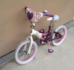 "16"" Huffy Girls' Disney Princess Bike with Basket"