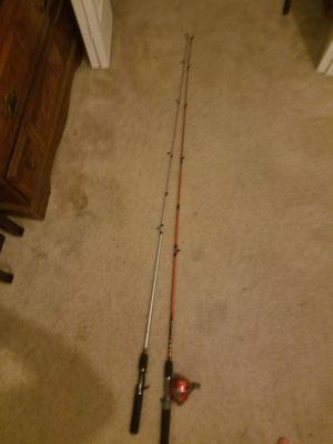 Spincast rods