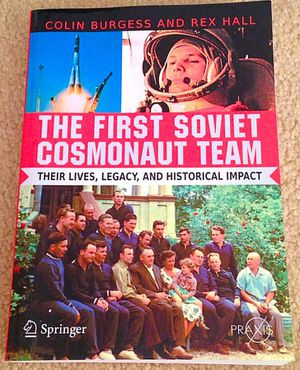 First Soviet Cosmonaut Team Book