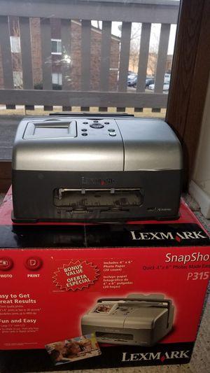 A Lexmark computer printer that also prints photographs