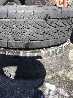 Have 2 pair of Bridgestone Used Tire 235/85/R16