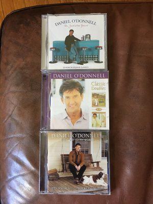 Set of 3 Daniel O'Donnell CDs