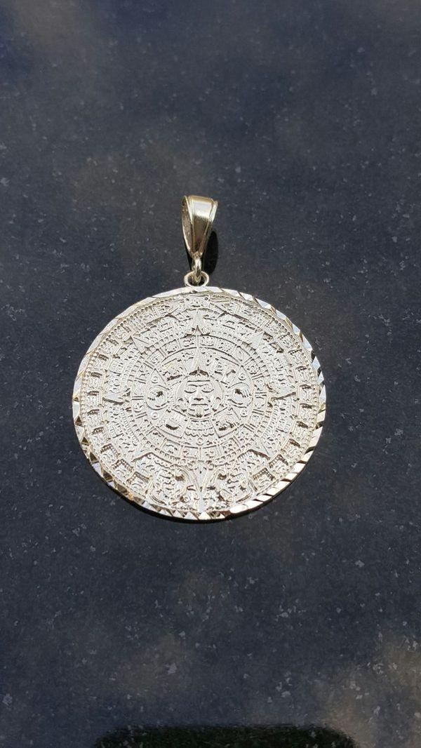 925 silver aztec calendar pendant jewelry accessories in los 925 silver aztec calendar pendant jewelry accessories in los angeles ca aloadofball Images