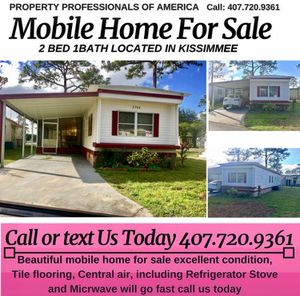Mobile Home for Sale $1000 OFF!