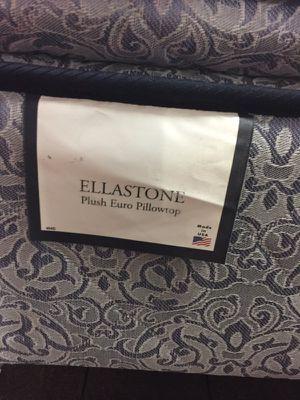 ELLASTONE PLUSH EURO PILLOWTOP