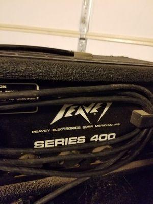 Guitar amp Peavey speakers and amp