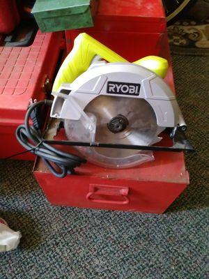 Ryobi circular saw mint condition asking 40 dollars firm
