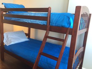 Cherry Twin/Twin Bunkbed