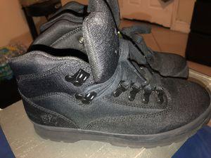 Timberland field boots black size 7
