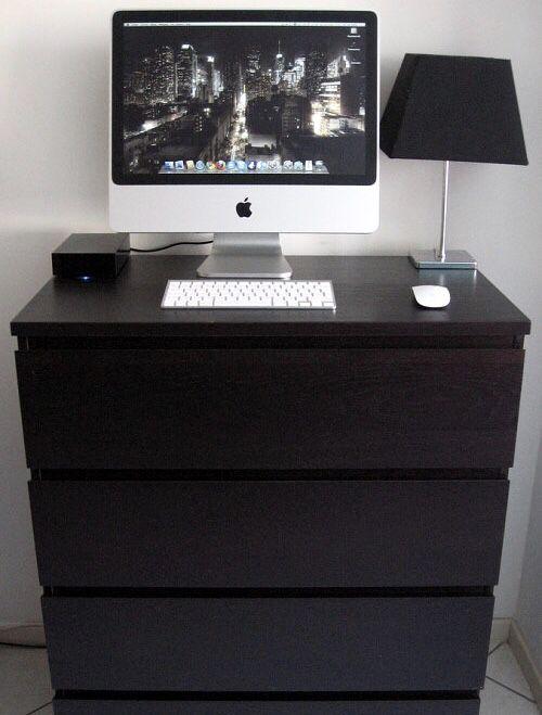 BLACK IKEA 5 DRAWER CHEST DRESSER Furniture in San Jose