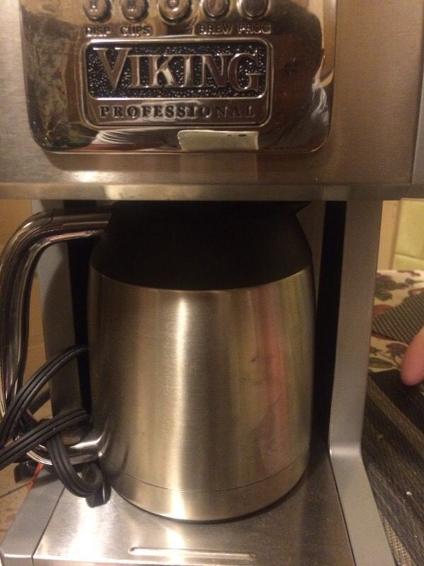 How To Use Viking Professional Coffee Maker : Viking professional coffee maker (Electronics) in Chicago, IL - OfferUp
