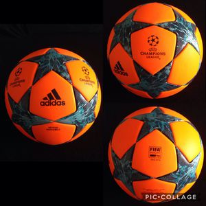 PRICE FOR 1 BALL !!!! SEASON 2018 FIRM / INNEGOCIABLE !!!! ORIGINAL AUTHENTIC. NEW. CHAMPIONS LEAGUE BALL. FIFA ✅. SIZE 5.