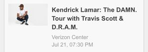 Kendrick Lamar tickets in the 400s