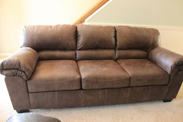 New CoffeeColored Ashley Furniture Sofa Couch Furniture in