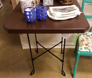 Upcycled Outdoor Table