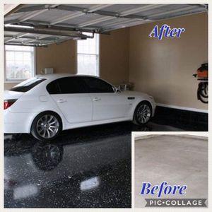 Se pintan garajes
