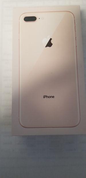 IPHONE 8 PLUS 256 GB APPLE FACTORY UNLOCKED BRAND NEW.