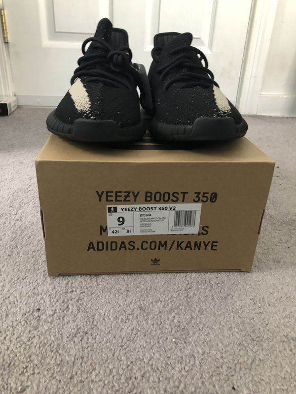 """f5b2776c869f Yeezy 350 Boost """"Oreo"""" sz 9 (Clothing   Shoes) in Silver Spring"""
