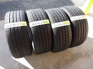 G169 225 45 17 Continental ContiProContact 4 used tires 55% life