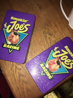 Smokin' Joe Racing tin cans