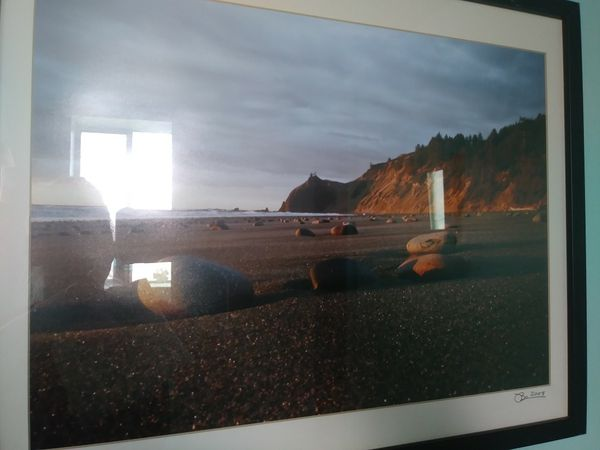 Beach photo 17 x 21 frame (Photography) in University Place, WA