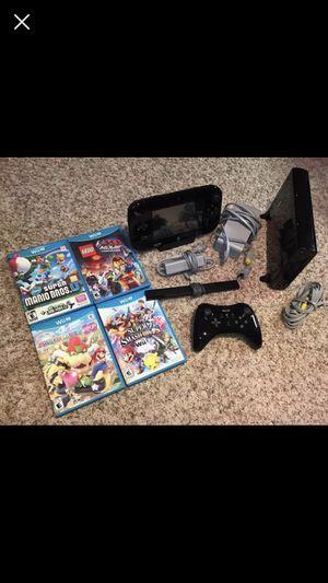 Wii U 32gb Pro controller + 4 games
