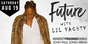 2 Tickets to see Lil Yachty And Future August 19th John Paul Jones Arena on August 19th at