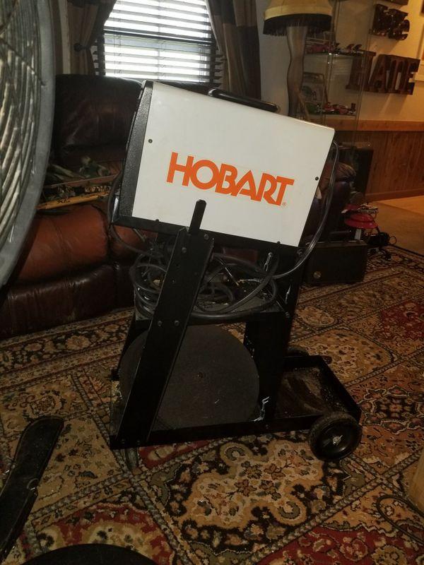 Hobart handler 125 wire welder with cart. (Tools & Machinery) in ...