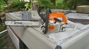 Stihl 251 with 18in bar
