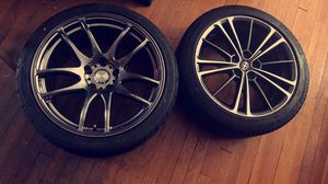 ESR wheels & tires