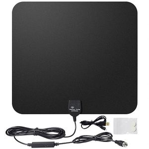 HDTV INDOOR ANTENNA - 50 MILES - ALL LOCAL CHANNELS FREE