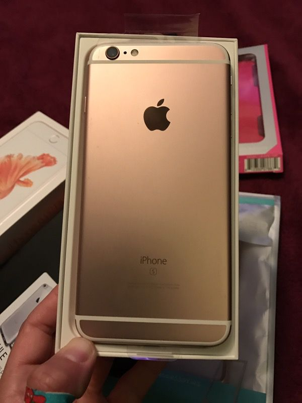 iphone 6 s plus rose gold 64gb verizon phone cell phones. Black Bedroom Furniture Sets. Home Design Ideas
