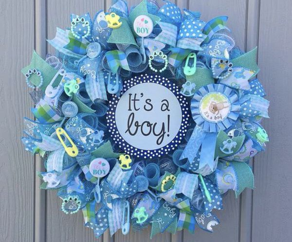 Baby Showers Ri ~ Mesh wreaths baby shower arts crafts in providence ri offerup