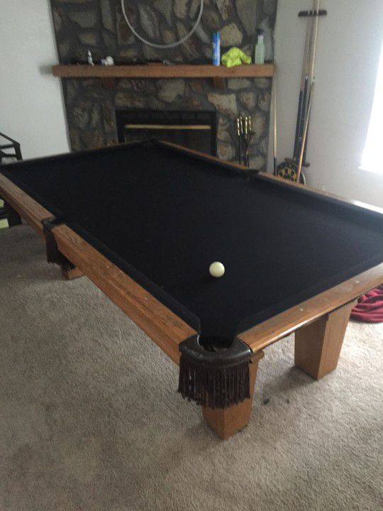 pool table, leisure bay billiards cheap!!! (sports & outdoors) in