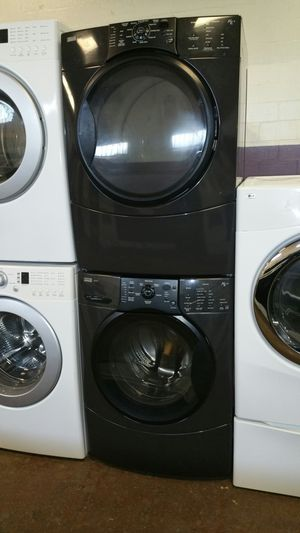 Kenmore front load washer and dryer electric set- free delivery - 4 months warranty