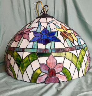 New and used lamp shades for sale in lansing mi offerup tiffany style hanging lamp shade mozeypictures Images