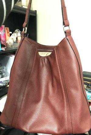 "Maroon ""new"" purse"