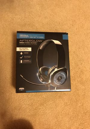 Afterglow Xbox headset