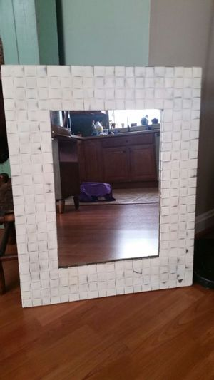 Basket Weave Mirror
