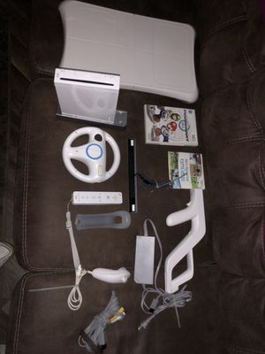 Nintendo wii+ games+accessories