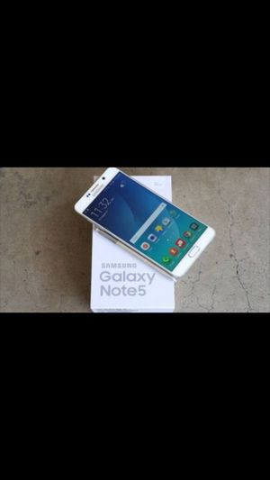 Samsung Galaxy Note 5 - Factory Unlocked - Comes w/ Box + Accessories