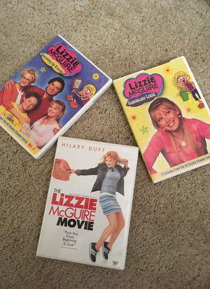 Lizzie McGuire Movie DVD & Episodes DVD's