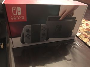 Nintendo Switch Gray Brand New