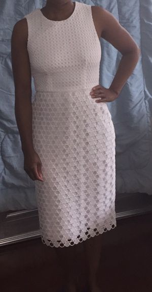 White Ann Taylor dress