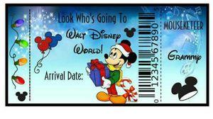 Disney world tomorrow 40$ ea