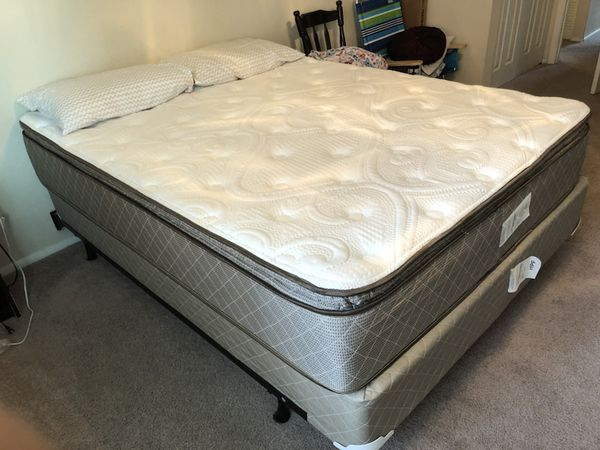 used queen mattress. Barely Used Queen Mattress, Box And Spring (Furniture) In Gainesville, FL Mattress