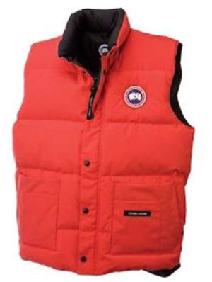 Brand new size small men red Canada goose freestyle vest